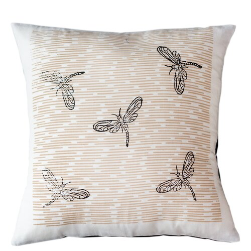 Sustainable Threads Dragonflies Pillow