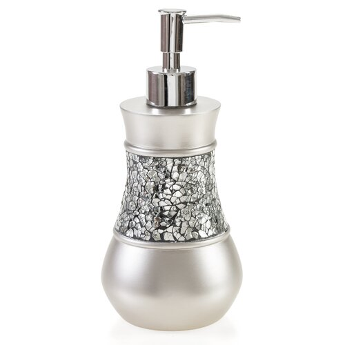Creative Scents Brushed Nickel Lotion Dispenser