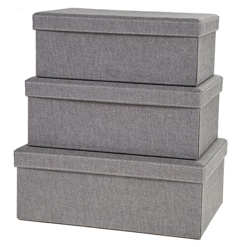 Creative Scents Gray Birch Storage Box