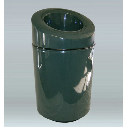 Ashton Trash Industrial Recycling Bin with Lid
