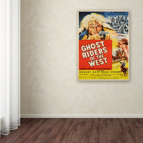 Vintage Apple 'Ghost Riders of the West' Canvas