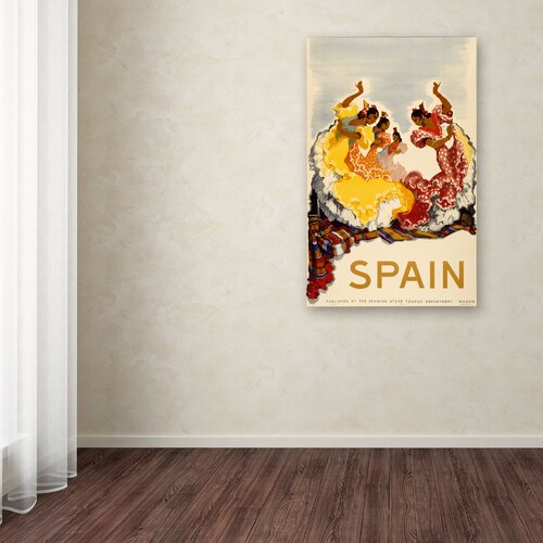 'Spain - Women Dancing' Canvas Art