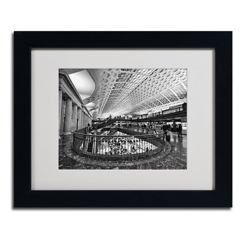 Gregory O'Hanlon 'Union Station Shops' Matted Framed Art