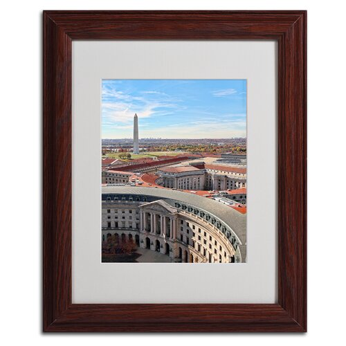Gregory O'Hanlon 'Washington DC' Framed Art