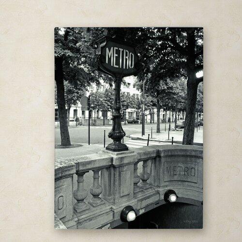 Kathy Yates 'Le Metro' Canvas Art