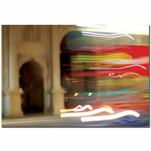 Trademark Fine Art 'London Blur' by Nicole Dietz Photographic Print on Canvas