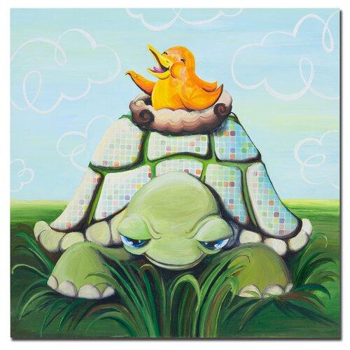 Trademark Fine Art Afternoon Seranade by Sylvia Masek Canvas Art