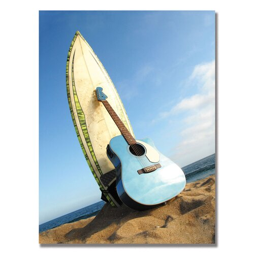 Trademark Fine Art Acoustic Surf Photographic Print on Canvas
