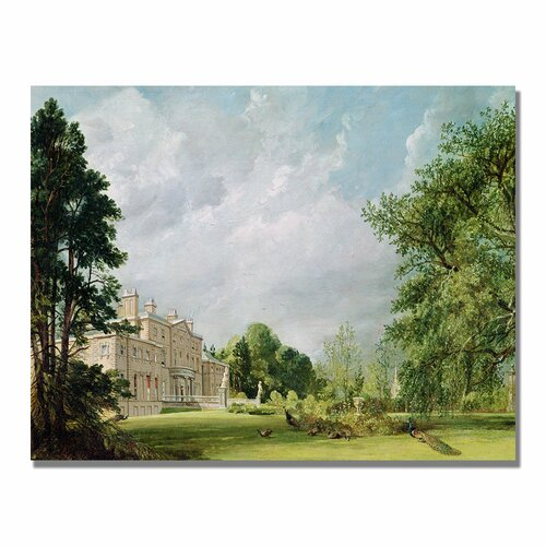 "Trademark Fine Art ""Malvern Hall"" by John Constable Painting Print on Canvas"