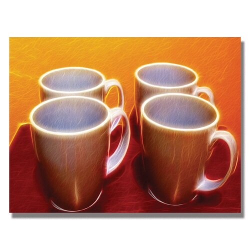 'Java Cups' by Kathie McCurdy Graphic Art on Canvas
