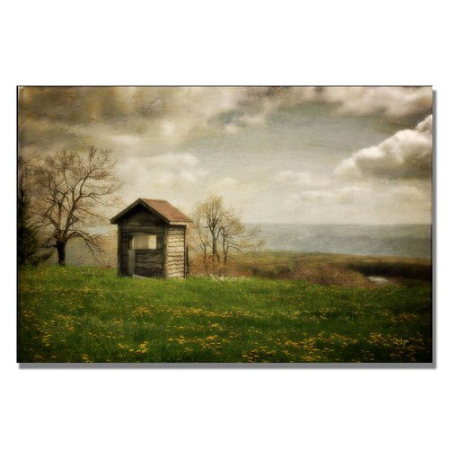 Trademark Fine Art 'Room With a View' by Lois Bryan Photographic Print on Canvas