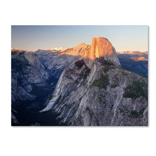 'Half Dome Yosemite' by Pierre Leclerc Photographic Print on Canvas