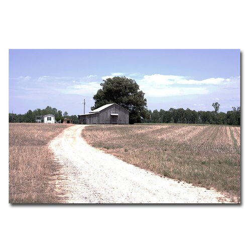 Trademark Fine Art 'The Farm' by Yale Gurney Photographic Print on Canvas