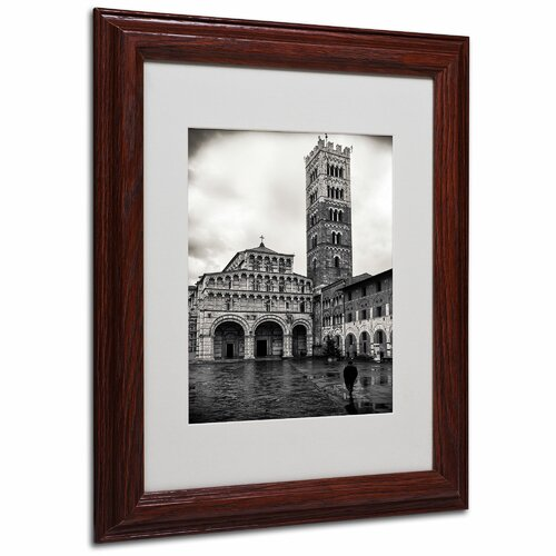 """Trademark Fine Art """"Need to Pray"""" by Giuseppe Torre Matted Framed Painting Print"""