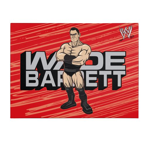 WWE Wade Barrett Kids Canvas Art