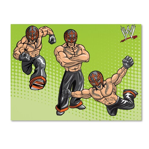 Trademark Fine Art WWE Rey Mysterio Kids Canvas Art