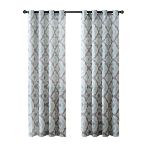 Ink Ivy Ankara Cotton Single Curtain Panel Amp Reviews