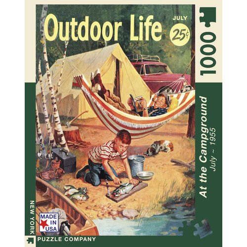 The Camping Trip 100-Piece Puzzle