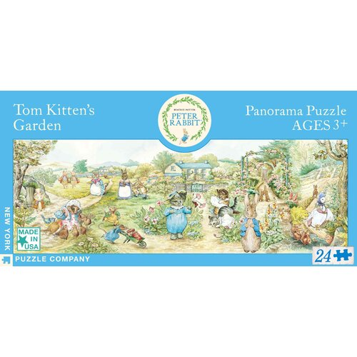 Tom Kitten's Garden Panoramic 24-Piece Floor Puzzle