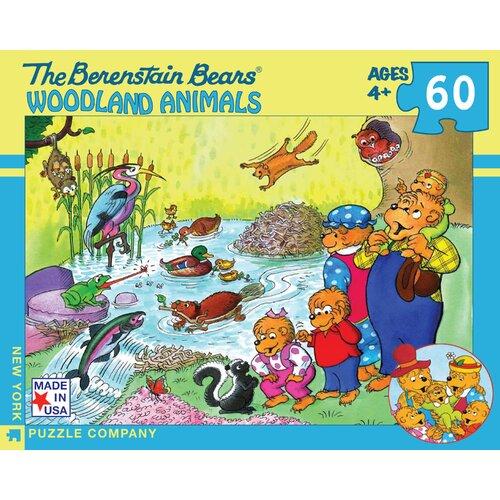 Berenstain Bears Woodland Animals 100-Piece Puzzle