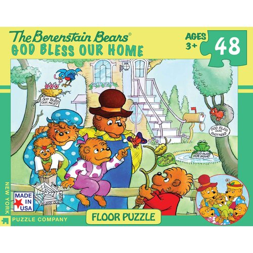 Berenstain Bears God Bless Our Home 48-Piece Floor Puzzle