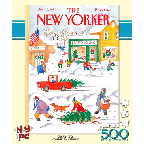 Snow Day 500-Piece Puzzle