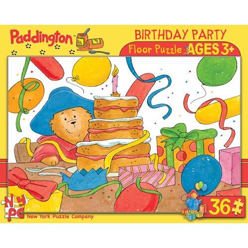 Paddington Birthday Party 36-Piece Floor Puzzle