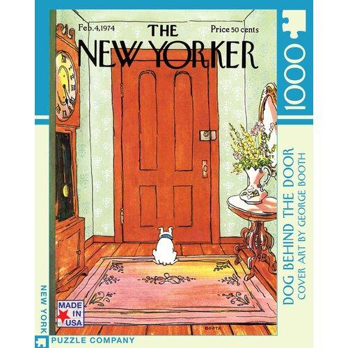 Dog Behind the Door 100-Piece Puzzle