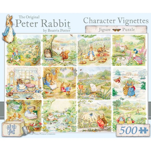 Character Scenes 500-Piece Puzzle