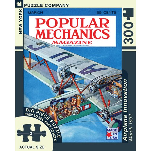 Airplane Innovation 300-Piece Puzzle