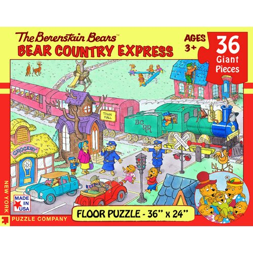 Berenstain Bears Country Express 36-Piece Floor Puzzle