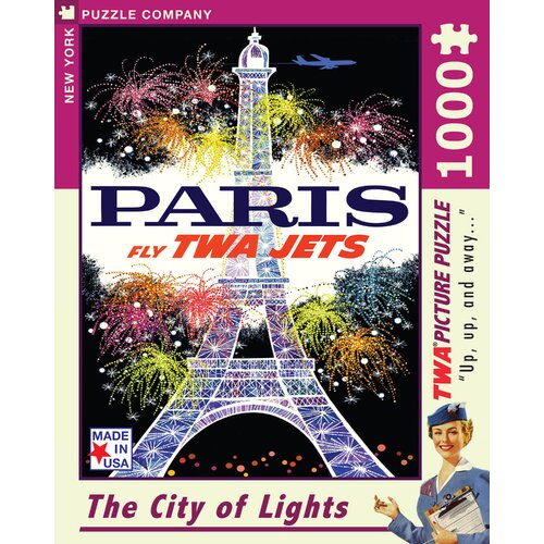 Paris 1000-Piece Puzzle