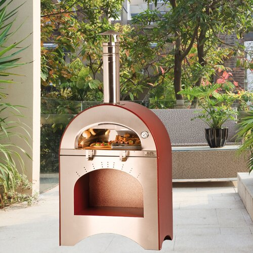Alfa Pizza Forno Pizza and Brace Wood Burning Pizza Oven