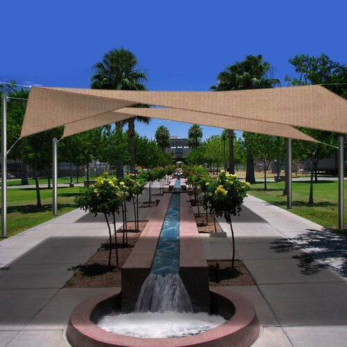 Phoenix Tent and Awning Company Sun Shade Sail Set