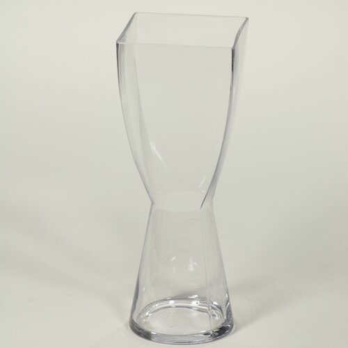 Entrada Square Top Round Bottom Vase