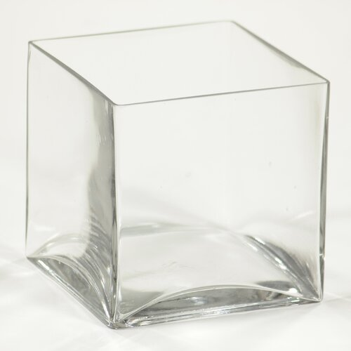 Sqaure Glass Vase
