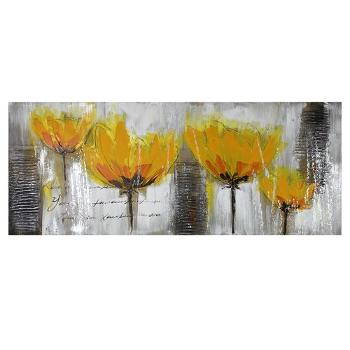 Yellow Flowers Original Painting