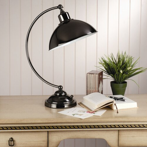 """Laura Ashley Home Hackett Complete 21.75"""" H Table Lamp with Bowl Shade"""