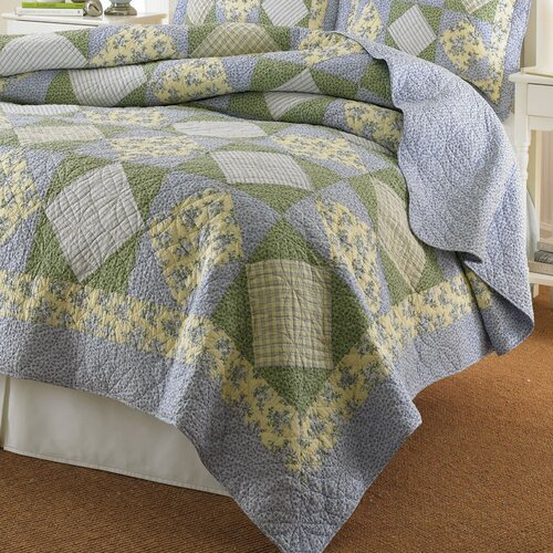 Laura Ashley Home Caroline Quilt