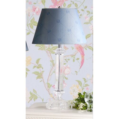 """Laura Ashley Home Battersby 28.13"""" H Table Lamp with Lucille Empire Shade"""