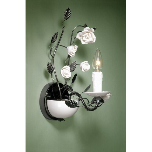Laura Ashley Home Chantilly 1 Light  Wall Sconce