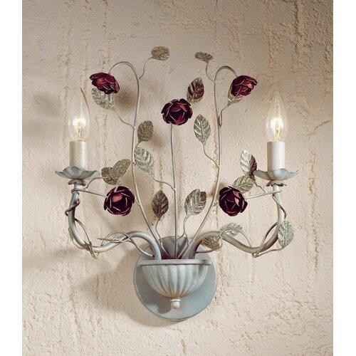 Laura Ashley Home English Rose 2 Light Wall Light