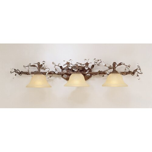 Laura Ashley Home Freya 3 Light Vanity Light