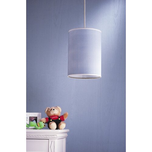 Laura Ashley Home Gingham 1 Light Pendant