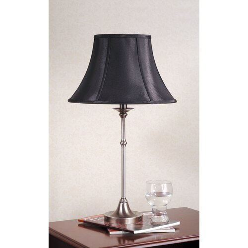 Laura Ashley Home Morgan Table Lamp with Black Shade