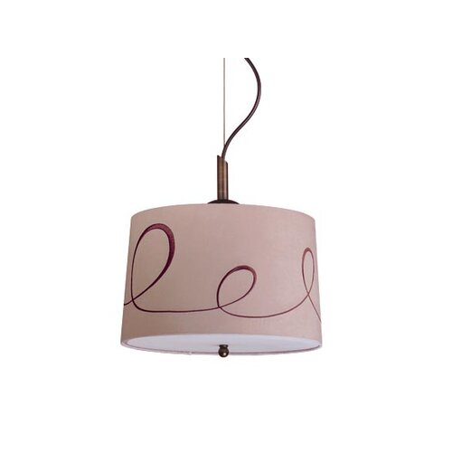 Laura Ashley Home Preston 1 Light Drum Pendant
