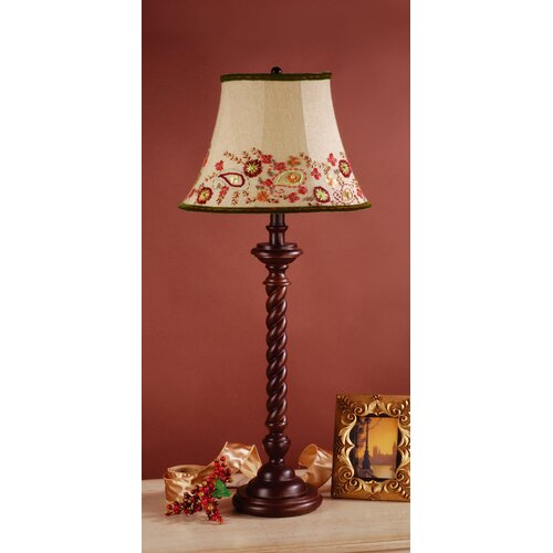 Laura Ashley Home Somerset Table Lamp with Amelia Shade