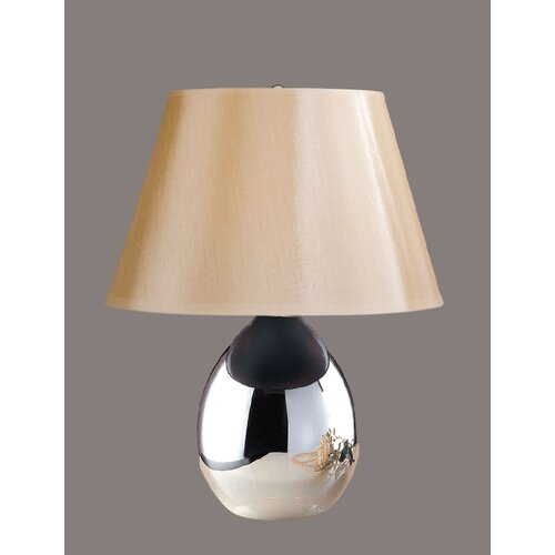 """Laura Ashley Home Tierney 18"""" H Table Lamp with Classic Barrel Shade"""