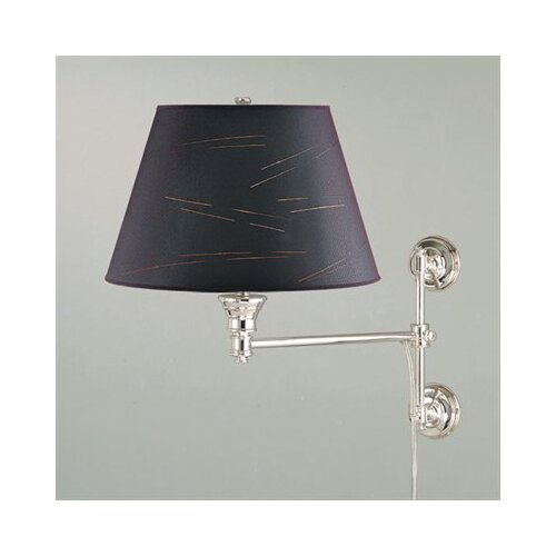 Laura Ashley Home State Street Kurt Swing Arm Wall Lamp