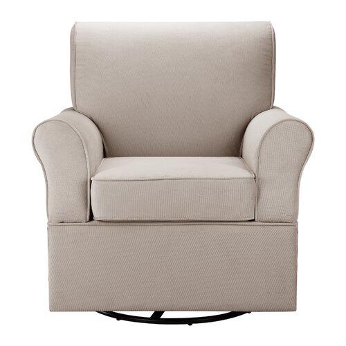 Dorel Living Kelcie Swivel Glider Chair Amp Ottoman Set